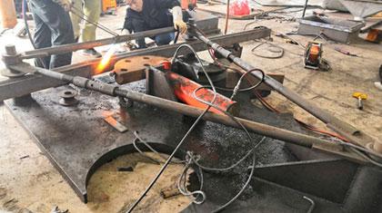液压型钢 钢管顶管机2